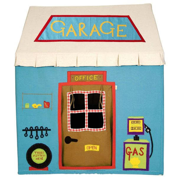 Children's Boys Small Win Green Stan's Motors Garage Playhouse